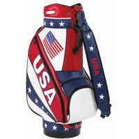 Burton USA Staff Golf Bag - Red/White/Blue