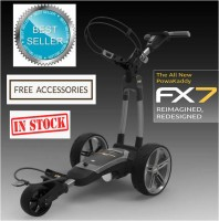 2020 Powakaddy FX7 Electric Golf Caddy - FREE ACCESSORIES (IN STOCK!!)