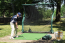 Pro Series V2 Golf and Multi-Sport Net - Example in the Yard