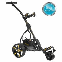Electric Non Remote Golf Caddy - Bat Caddy X3 Classic Model - Charcoal Grey Metallic Color - Best Seller