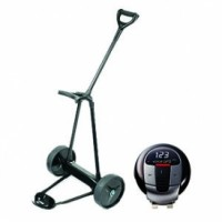 eMotion E2 Lithium Electric Golf Push Cart with Voice GPS Pro