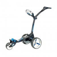 Motocaddy M5 Connect Lithium Golf Caddy - Side View - Black