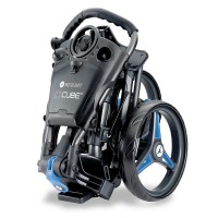 Motocaddy CUBE Manual Push Golf Trolley (Folded View)