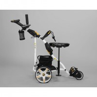 Electric Non Remote Golf Caddy - Bat Caddy X3 Pro Model - Right Side With Seat