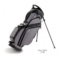 Burton Pro Stand Golf Bag - Silver/Black Color