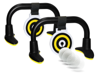 IZZO Golf Sharp Shooter Putting Practice and Gaming Set (Shown with Golf Ball)