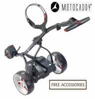 2018 Motocaddy S1 Digital (Black) - Back View