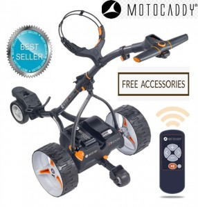Motocaddy S7 Remote Control Electric Golf Trolley - Best Seller