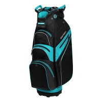 Datrek Lite Rider Pro Cart Bag (Black/Powder Blue/Silver)