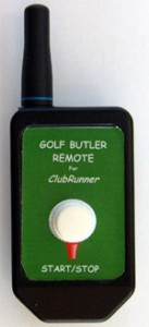 Golf Caddy Accessories - Club Runner Point And Shoot Remote Image