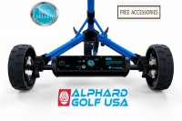 Alphard eWheels Club Booster Electric Push Cart Conversion Kit - Rear View - Best Seller