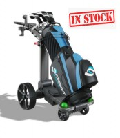 Foresight Sports Follow/Remote Control Electric Golf Caddy - Front Right View (IN STOCK)