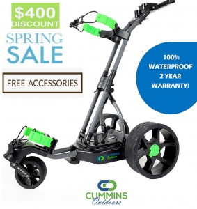 The Alligator 100% Waterproof Remote Control Electric Golf Caddy - Spring Sale! ($400 OFF)