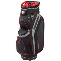 Burton Premier Pro Cart Bag - Black/Silver/Red (BU36002)