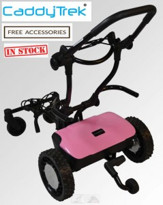 Caddytrek CT 2000R2 Pink Lady Edition Model (In Stock)