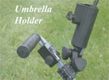 Golf Caddy Accessories - Lectronic Kaddy TS-1 Umbrella Holder Image