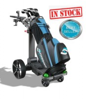 Foresight Sports Follow/Remote Control Electric Golf Caddy - Front Right View (IN STOCK) BEST SELLER