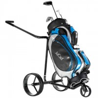 JuCad Carbon Travel Remote Control Electric Golf Caddy