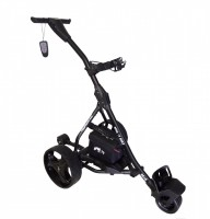 Remote Control Golf Caddy - Spin It Golf Easy Trek - Black Color / Right Side
