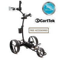 Remote Control Lithium Electric Golf Trolley - 2019 Cart-Tek Gri-1500Li - Best Seller - FREE ACCESSORIES