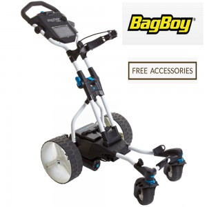 Bag Boy Navigator Quad Remote Control Electric Golf Caddy Front View