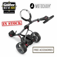 2020 Motocaddy S1 Digital (Black) - Back View (IN STOCK)