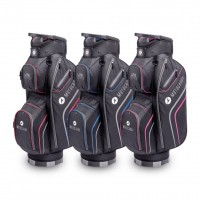 218 Club Series - Motocaddy Golf Bags (black/red, black/blue, black/lime)