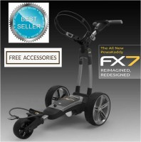 2020 Powakaddy FX7 Electric Golf Caddy - FREE ACCESSORIES
