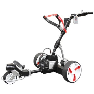 Kangaroo Z-Series Remote Control Golf Trolley is the Most Durable Caddy on the Market Today - Black