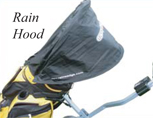 Golf Caddy Accessories - Lectronic Kaddy TS-1 Rain Hood Image