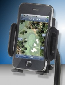 Motocaddy Accessory - Motocaddy Device Cradle with Smart Phone