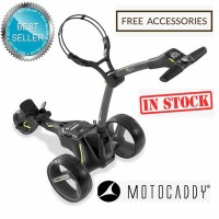 2020 Motocaddy M3 Lithium Manually Controlled Electric Golf Caddy (Black) - Best Seller (IN STOCK)