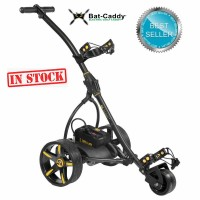 Electric Non Remote Golf Caddy - Bat Caddy X3 Classic Model - Charcoal Grey Metallic Color - Best Seller (In Stock)