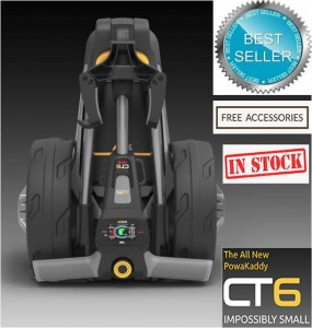 2020 Powakaddy CT6 Electric Golf Trolley - Best Seller