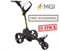 MGI ZIP X1 Lithium Electric Golf Caddy Trolley - Great Starter Buggy - Free Accessories (NOW IN STOCK!!)