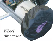 Lectronic Kaddy Accessories - Dyna Steer Wheel Cover Image