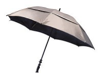 Bag Boy Telescopic UV Umbrella - Silver