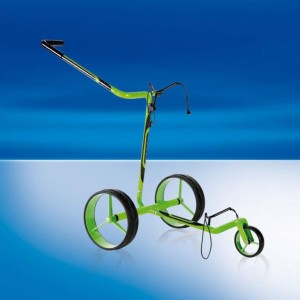 JuCad Carbon Travel Carbon Fiber Remote Controlled Trolley - Green