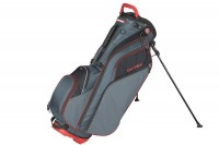 Datrek Go Lite Hybrid Stand Bag (Charcoal/Red/Black)