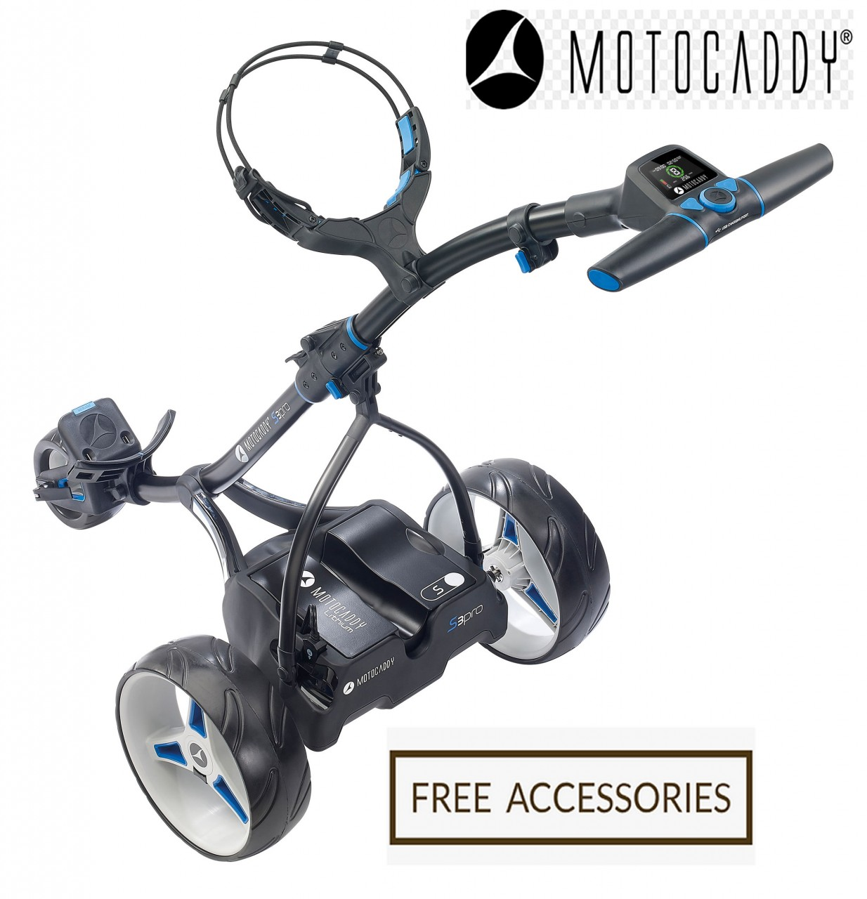 Motocaddy S3 Digital Lithium Electric Golf Trolley | Motogolf com