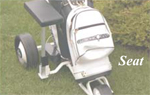 Golf Caddy Accessories - Lectronic Kaddy TS-1 Seat Image