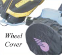 Golf Caddy Accessories - Lectronic Kaddy TS-1 Wheel Dust Cover Image