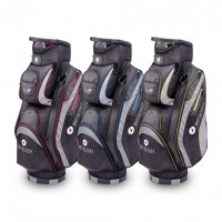 Club Series - Motocaddy Golf Bags (black/red, black/blue, black/lime)