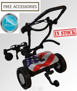 Caddytrek CT 2000R2 Stars and Stripes Edition Model (In Stock)
