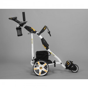 Electric Non Remote Golf Caddy - Bat Caddy X3 Pro Model - Right Side View