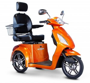 eWheels EW-36 Mobility Scooter - Orange