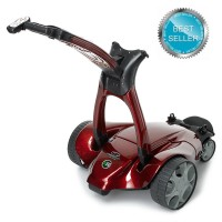 Stewart X9 Follow Signature Remote Golf Trolley - Red Carbon Fibre Color (special order)