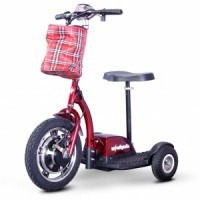 eWheels EW-18 Stand-N-Ride Scooter - Red