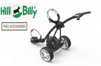 Hill Billy Lithium Electric Golf Caddy Cart Trolley - FREE ACCESSORIES!!