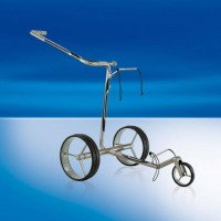 JuCad Carbon Travel Carbon Fiber Remote Controlled Trolley - Silver